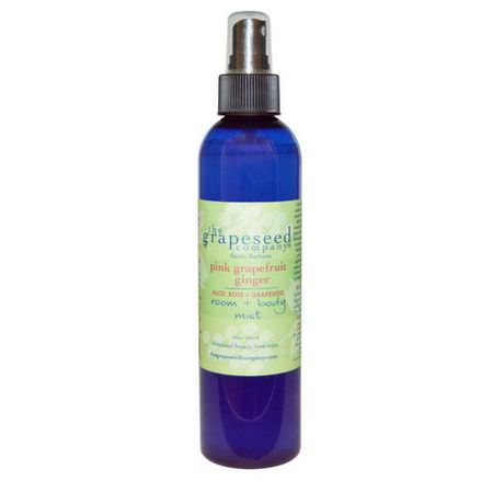 The Grapeseed Company Santa Barbara, Room Body Mist, Pink Grapefruit Ginger 260ml