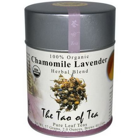The Tao of Tea, 100% Organic Herbal Blend, Chamomile Lavender, Caffeine Free 57g