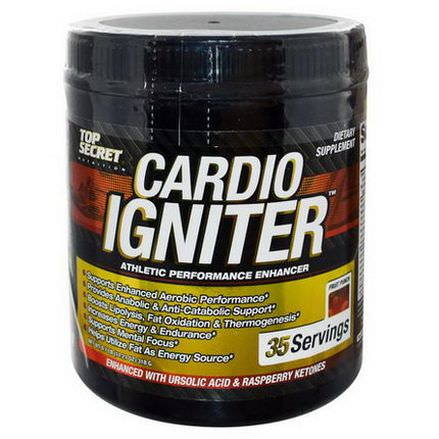 Top Secret Nutrition, Cardio Igniter, Athletic Performance Enhancer, Fruit Punch 318g