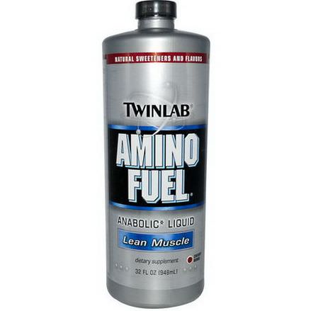 Twinlab, Amino Fuel, Lean Muscle, Cherry BMB 948ml
