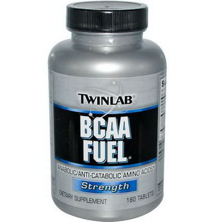Twinlab, BCAA Fuel, Strength, 180 Tablets