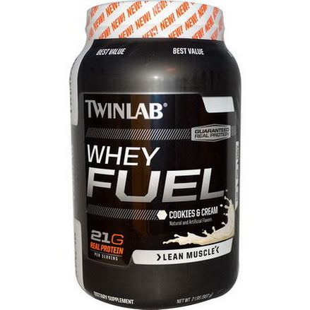 Twinlab, Whey Fuel, Cookies&Cream 907g