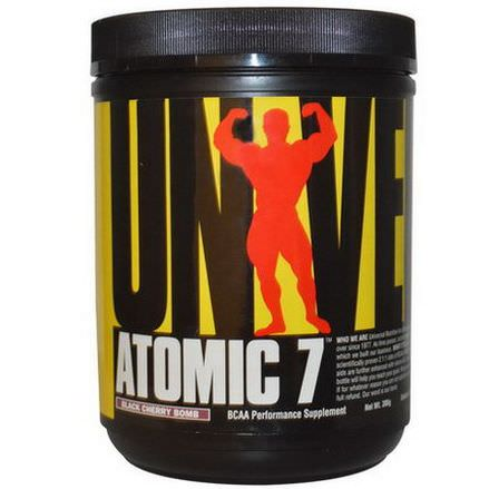 Universal Nutrition, Atomic 7, Black Cherry Bomb, 386g