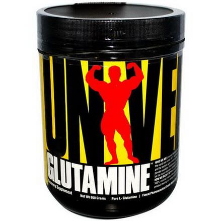 Universal Nutrition, Glutamine, Recovery Supplement, 600g