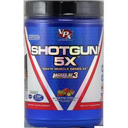 VPX Sports, Shotgun 5X, Exotic Fruit 574g