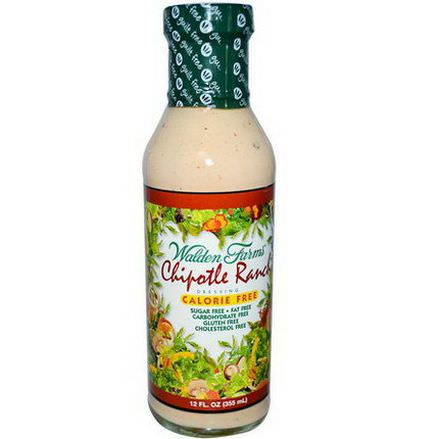 Walden Farms, Chipotle Ranch Dressing 355ml