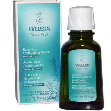 Weleda, Rosemary Conditioning Hair Oil 50ml