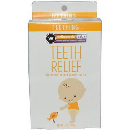 Wellements, Baby, Teeth Relief 30ml