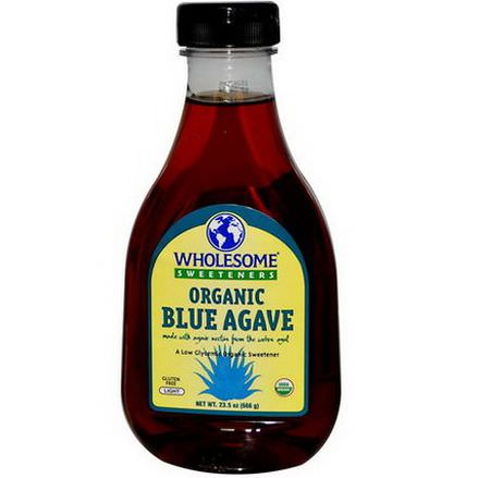Wholesome Sweeteners, Inc. Organic Blue Agave, Light 666g