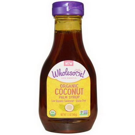 Wholesome Sweeteners, Inc. Organic Coconut Palm Syrup 340g
