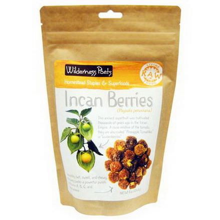 Wilderness Poets, Raw Living Foods, Incan Berries 226.8g
