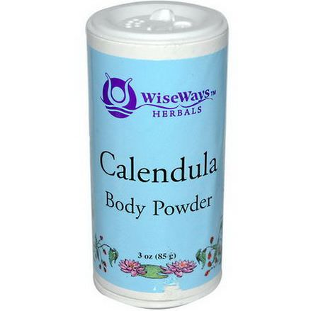WiseWays Herbals, LLC, Calendula Body Powder 85g