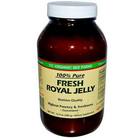 Y.S. Eco Bee Farms, Fresh Royal Jelly, 100% Pure 480g Ice