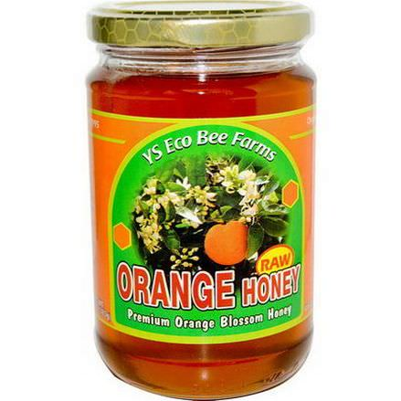 Y.S. Eco Bee Farms, Orange Honey 383g