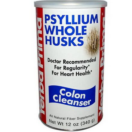 Yerba Prima, Psyllium Whole Husks, Colon Cleanser 340g