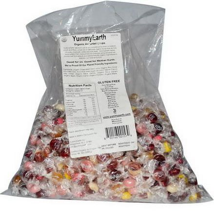 Yummy Earth, Organic Assorted Drops 2268g