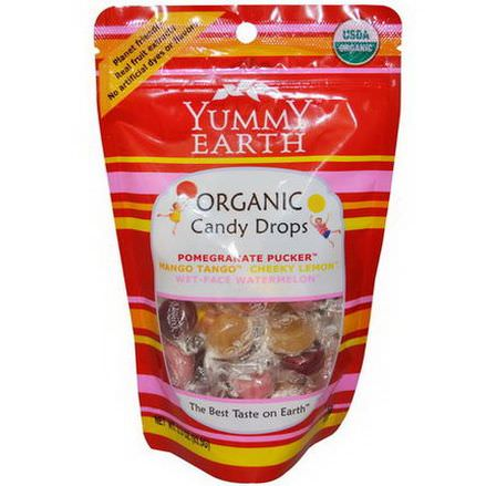 Yummy Earth, Organic Candy Drops, 4 Flavors 93.5g