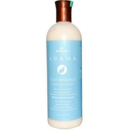 Zion Health, Adama, Clay Minerals Conditioner, Peach Jasmine 473ml