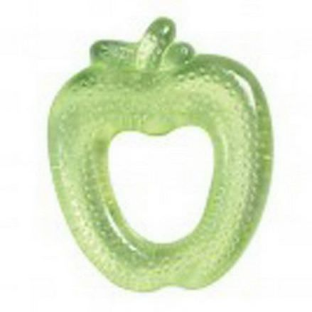 iPlay Inc. Green Sprouts, Fruit Cool Soothing Teether, Green Apple, 3+ Months