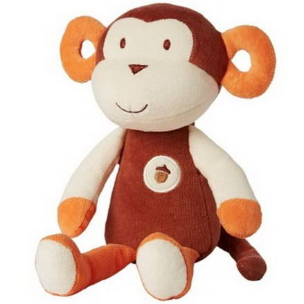 Greenpoint Brands, My Natural, My First Cuddles, Plush Monkey, 1 Toy