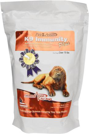 For Large Dogs, Liver & Fish Flavored, 90 Soft Chews by Aloha Medicinals K9 Immunity Plus-Pet Care, Jerkys Ben Och Kex