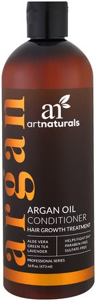 Argan Oil Conditioner, Hair Growth Treatment, 16 fl oz (473 ml) by Artnaturals-Bad, Skönhet, Balsam, Argan Balsam