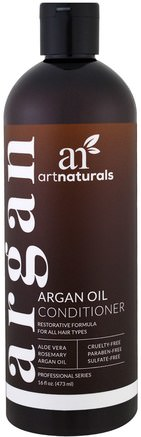 Argan Oil Conditioner, Restorative Formula, 16 fl oz (473 ml) by Artnaturals-Bad, Skönhet, Balsam, Argan Balsam