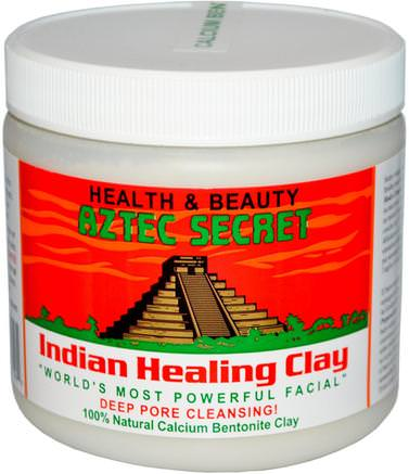 Indian Healing Clay, 1 lb (454 g) by Aztec Secret-Sverige