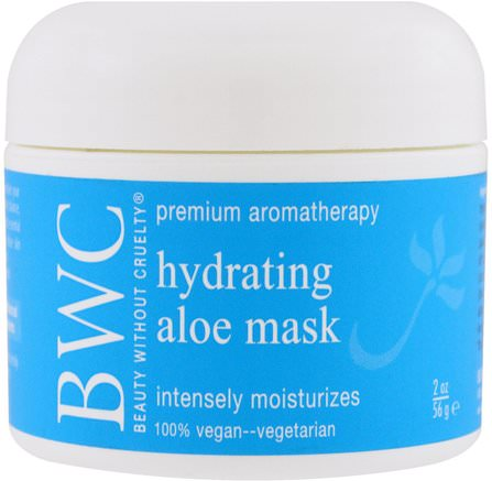 Hydrating Facial Mask, 2 oz (56 g) by Beauty Without Cruelty-Skönhet, Ansiktsvård, Hud, Ansiktsmask