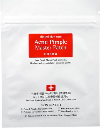 Acne Pimple Master Patch, 24 Patches by Cosrx-Bad, Skönhet, Akne Aktuella Produkter