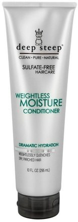 Weightless Moisture Conditioner, 10 fl oz (295 ml) by Deep Steep-Bad, Skönhet, Argan Balsam