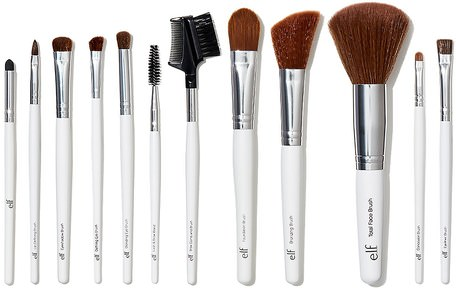 Essential Professional Complete Brush Set, 12 Brushes by E.L.F. Cosmetics-Verktyg / Borstar