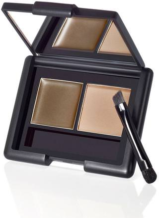 Eyebrow Kit, Gel & Powder, Ash, 0.123 oz (3.5 g) by E.L.F. Cosmetics-Verktyg / Borstar, Ansikte