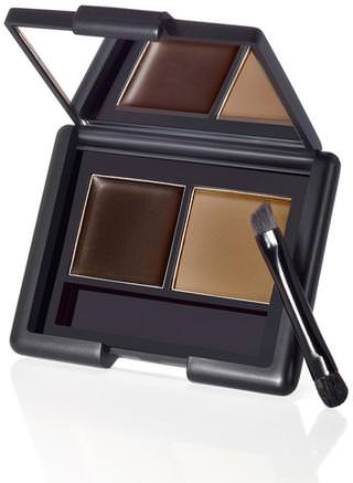 Eyebrow Kit, Gel/Powder, Dark, 0.12 oz (3.5 g) by E.L.F. Cosmetics-Verktyg / Borstar, Ansikte