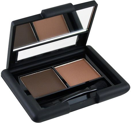 Eyebrow Kit, Gel - Powder, Medium, Gel 0.05 oz (1.4 g) - Powder 0.08 oz (2.3 g) by E.L.F. Cosmetics-Verktyg / Borstar, Ansikte