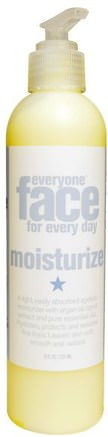 Face for Every Day, Moisturize, 8 fl oz (237 ml) by Everyone-Skönhet, Ansiktsvård, Krämer Lotioner, Serum