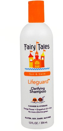 Clarifying Shampoo, Lifeguard, Sun & Swim, 12 fl oz (354 ml) by Fairy Tales-Bad, Skönhet, Hår, Hårbotten, Schampo