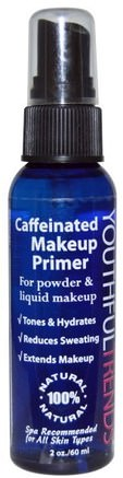 Youthful Trends, Caffeinated Makeup Primer, 2 oz (6 ml) by Greensations-Skönhet, Ansiktsvård, Hud, Bad, Smink, Ansiktsprimrar