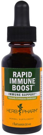 Rapid Immune Boost, 1 fl oz (30 ml) by Herb Pharm-Kosttillskott, Antibiotika, Echinacea Och Goldenseal