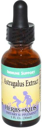 Astragalus Extract, 1 fl oz (30 ml) by Herbs for Kids-Hälsa, Kall Influensa Och Virus, Astragalusvätska, Immunsystem