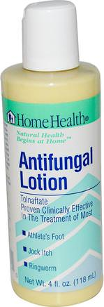 Antifungal Lotion, 4 fl oz (118 ml) by Home Health-Hälsa, Idrottare Fot