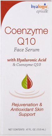 by Hyalogic Coenzyme Q10 Face Serum.47 fl oz (13.5 ml)-Hälsa, Hudserum, Skönhet, Hyaluronsyrahud