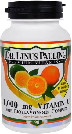 Dr. Linus Pauling, Vitamin C, 1.000 mg, 90 Tablets by Irwin Naturals-Vitaminer, Vitamin C