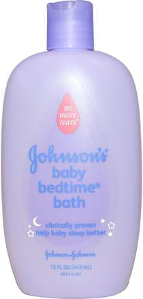 Baby Bedtime Bath, 15 fl oz (443 ml) by Johnsons Baby-Bad, Skönhet, Duschgel, Barn Kroppsvask, Barn Duschgel, Barnhälsa, Barnbad