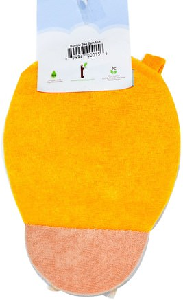 Bumble Bee Bath Mitt by Little Twig-Barnens Hälsa, Barnbad
