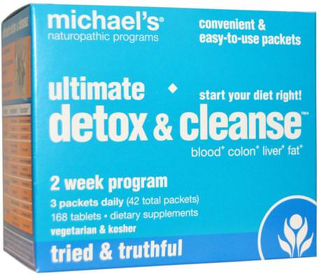 Ultimate Detox & Cleanse, 42 Packets by Michaels Naturopathic-Hälsa, Detox