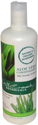 Aloe Vera Conditioner, 16 fl oz (473 ml) by Mill Creek-Bad, Skönhet, Balsam, Hår, Hårbotten, Schampo, Balsam