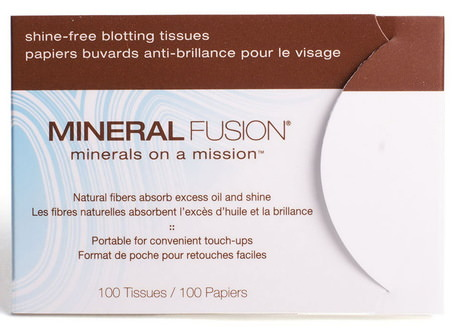 Mineral Fusion, Shine-free, Blotting Tissues, 100 Tissues by Mineral Fusion-Skönhet, Ansiktsvård, Ansiktsservetter