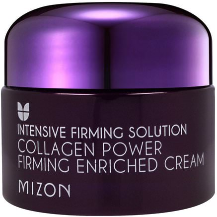 Collagen Power Firming Enriched Cream, 1.69 oz (50 ml) by Mizon-Bad, Skönhet, Ansiktsvård, Hudtyp Anti-Åldrande Hud