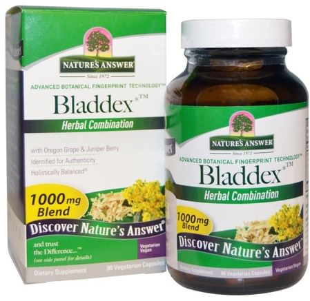 Bladdex, 1000 mg, 90 Vegetarian Capsules by Natures Answer-Hälsa, Blåsan